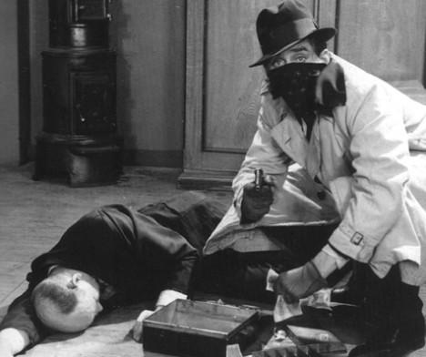 """""""To levende og en død"""" (foto: Nasjonalbiblioteket)"""