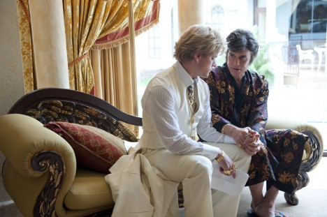 Matt Damon og Michael Douglas i Behind the Candelabra