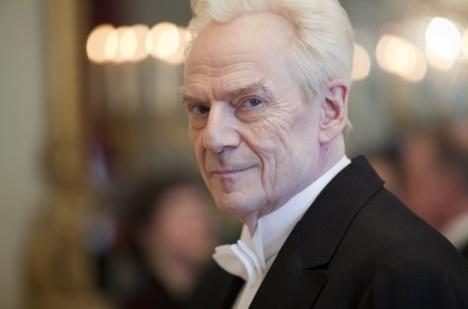 Jesper Christensen spiller hovedrollen som Torgny Segerstedt i «Dom över död man».