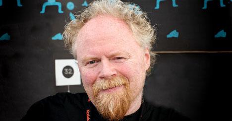 Sverre Pedersen, forbundsleder i Norsk Filmforbund