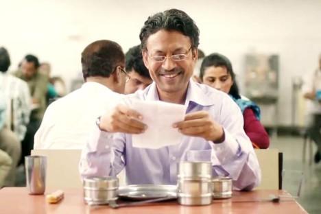 Irrfan Khan spiller den mannlige hovedrollen i «The Lunchbox».