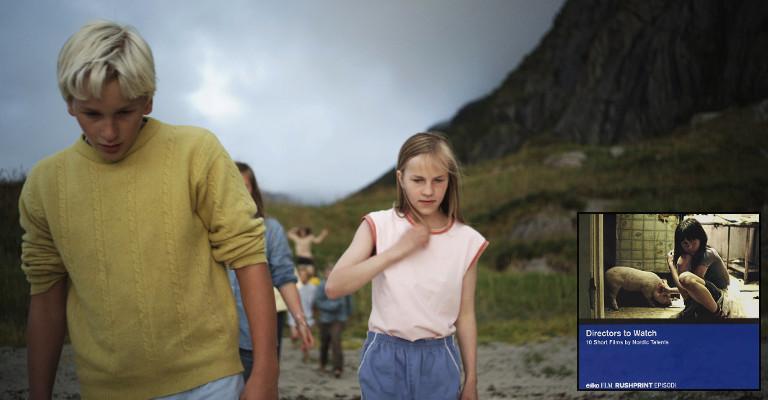 """Fra Figenschous kortfilm """"Å åpne, å se"""", som var med på Rushprints kortfilm-DVD """"Directors to Watch""""."""