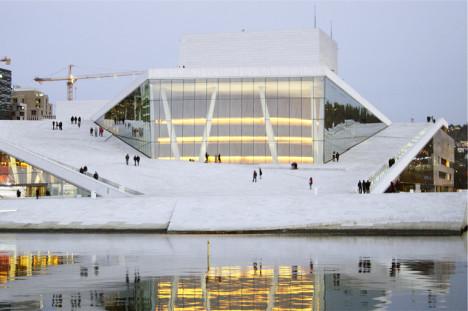 Margreth Olin har lagd dokumentar om Operahuset i Oslo. Foto: Øystein Mamen.