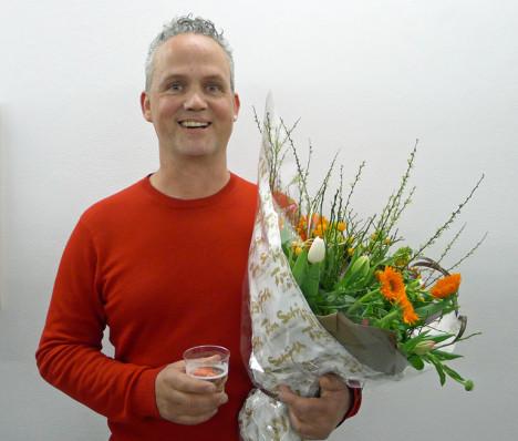 Ole Hagen under utdelingen av Fotokunstprisen 2014. Foto: Oda Bhar.