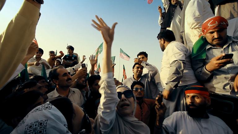 Å få til en fredsmarsj i Waziristan var et forsøk på å vise alternativer til vold og radikalisering. Foto: Concordia Productions.