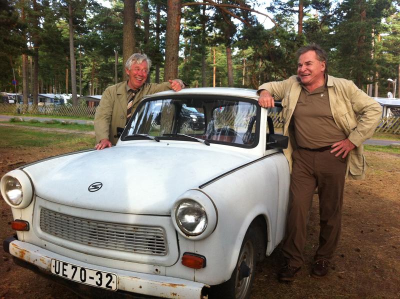 De to tyskerne i «Gamle venner». Fritz Wepper til høyre.