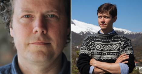 Tom Chr. Lilletvedt (t.v) og Christian Berg-Nielsen.
