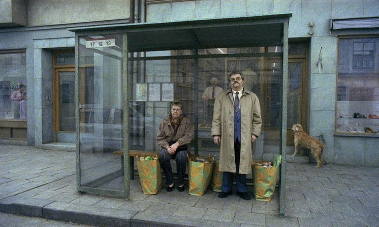 Scene fra «Du levande». Foto: Studio 24.