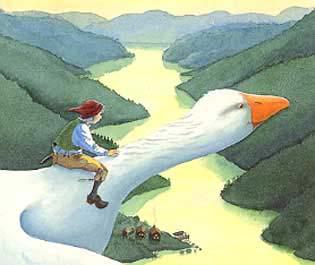«Nils Holgerssons underbara resa genom Sverige» av Selma Lagerlöf er en klassisk svensk barnebok.