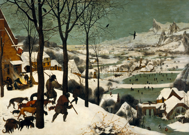 «Jegere i snøen» av Pieter Bruegel den eldre.