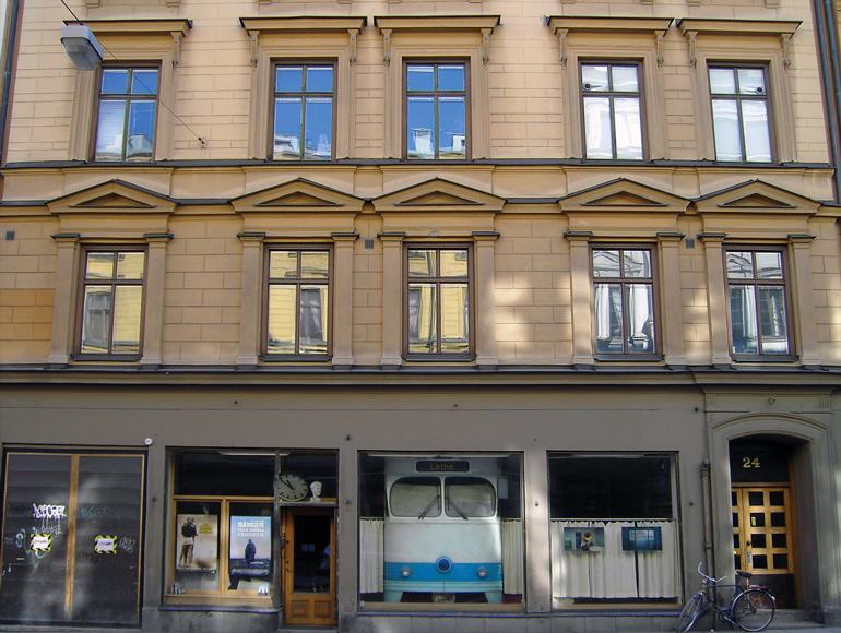 Studio 24 i Stockholm. © Roy Andersson Filmproduktion.