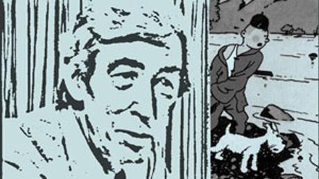 I dokumentaren TINTIN OG JEG (2003) brukte Østergaard virkelige lydfiler fra et intervju med Hergé, og illustrerte dem med en animert versjon av tegneserieskaperen som snakket.