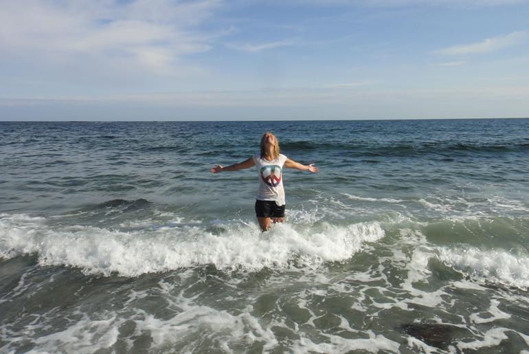 Ida og havet. Foto: IndieFilm.