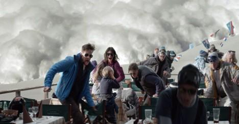 Turist snøskredet - versjon 2