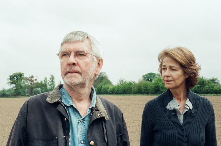 Charlotte Rampling og Tom Courtenay i 45 YEARS.