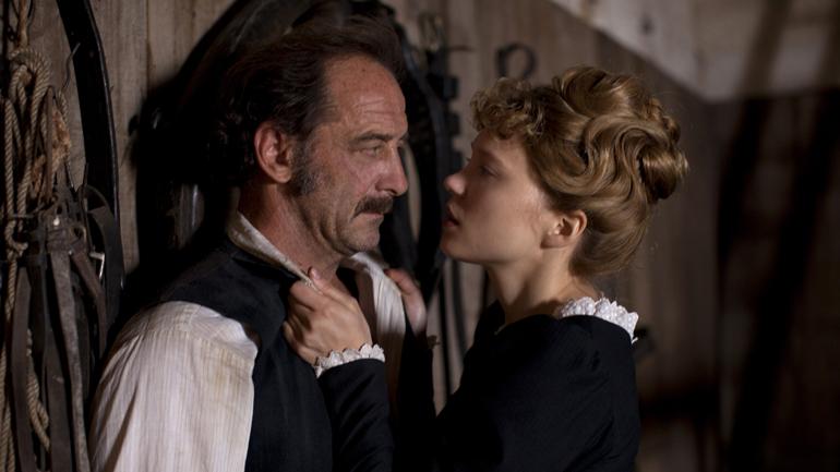 Léa Seydoux og Vincent Lindon i «En kammerpikes dagbok».