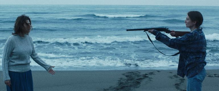 Gun-on-the-beach