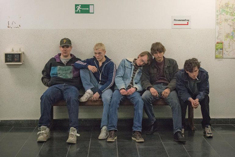 Guttegjengen-venter