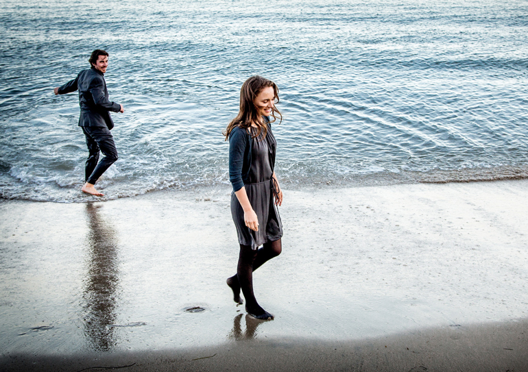 Christian Bale og Nathalie Portman i KNIGHT OF CUPS.