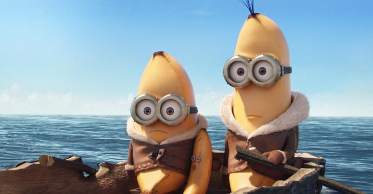 Minions. Foto: United International Pictures.