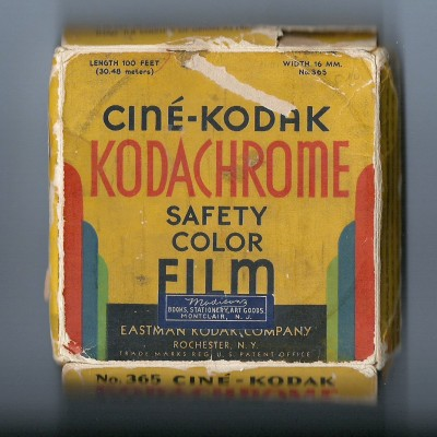 Codachrome 16mm fargefilm. Foto; Flickr/LeoLondon