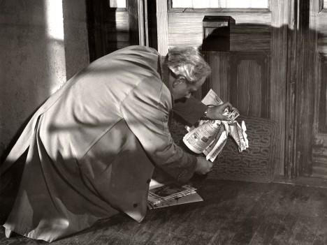Claes Gill overbeviste stort i rollen som pyromanen Tim. Foto: Nasjonalbiblioteket