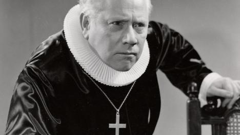 """Claes Gill i Skouens """"Herren og hans tjenere""""."""