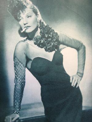 Kirsten Heiberg i magasinet Filmwelt i 1940.