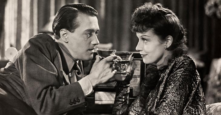 Rolf Weih og Heiberg i spionfilmen «Die goldene Spinne» fra 1943.