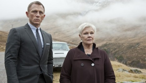Daniel Craig and Judi Dench in Metro-Goldwyn-Mayer Pictures/Columbia Pictures/EON Productionsí action adventure SKYFALL.
