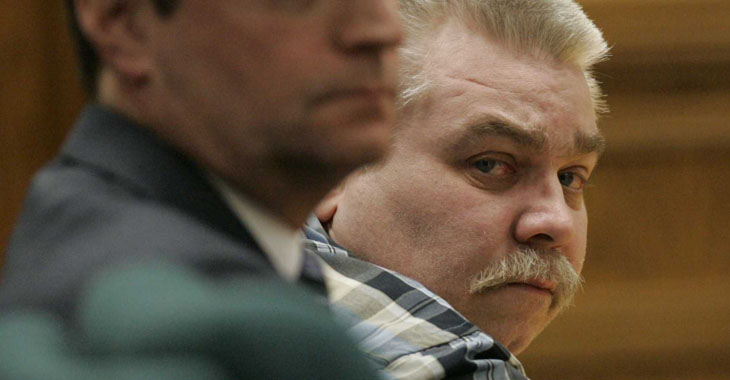 Steven Avery og hans advokat Jerry Buting i «Making a Murderer».