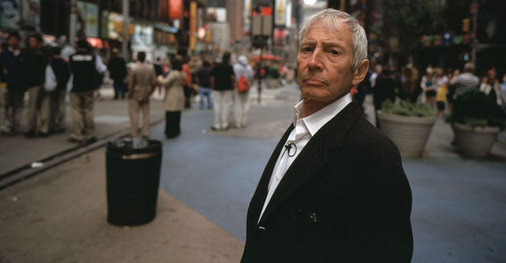 Fra HBOs «The Jinx: The Life and Deaths of Robert Durst».