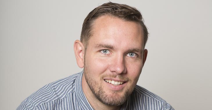 Andreas Bakka Hjertø, programdirektør i TV3.