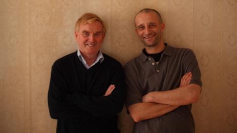 Jo Strømgren og Stein-Roger Bull med ny dansefilm