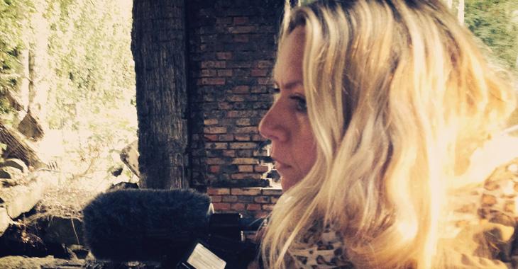 Produsent og regissør Hilde K. Kjøs.