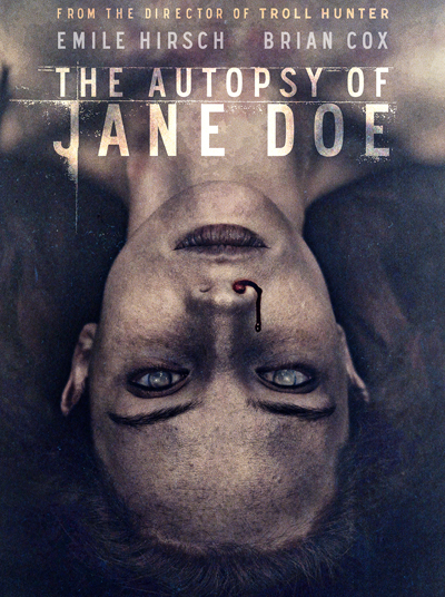 Plakaten til The Autopsy of Jane Doe.