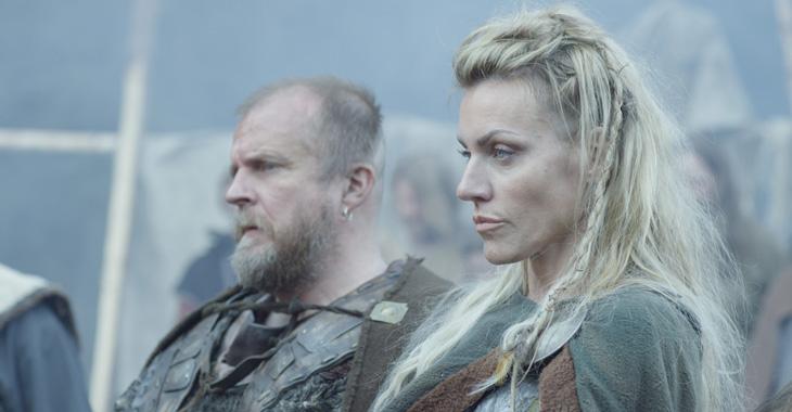 Silje Torp som Frøya Viking.