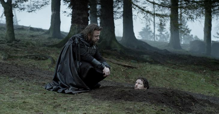 Kåre Conradi som Orm, og Trond Fausa Aurvåg som den dekadent og selvhøytidelig romeren Rufus.
