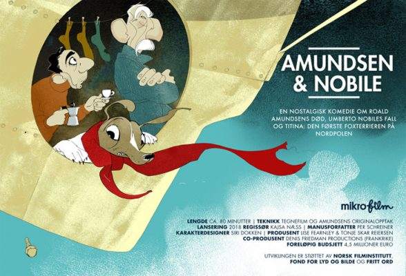 Amundsen og Nobile Mikrofilm