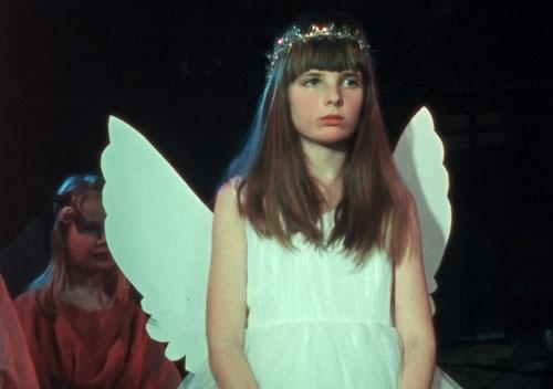 Flink pike sitt pent engel