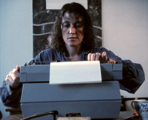Livet på Frogner med skrivemaskin