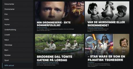 NRK slipper 30 000 historiske programmer på nett