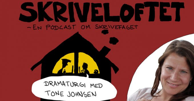 Ny podcastserie: Skriveloftet