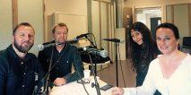 Møt humorsjefene i podcast-samtale