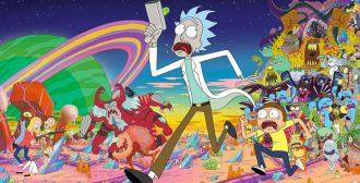 Med Rick og Morty på nihilistiske eventyr