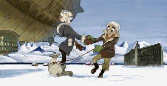 10 millioner til satire om Amundsen og Nobile