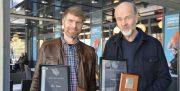 Christian Lo og Erik Poppe hedret av kinosjefene
