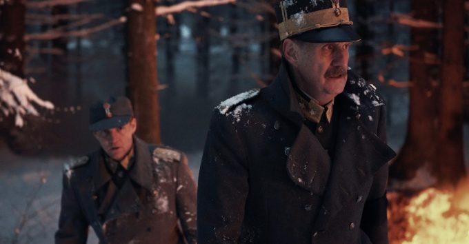 """Søren Pilmark spiller Kong Haakoni """"Atlantic Crossing"""""""