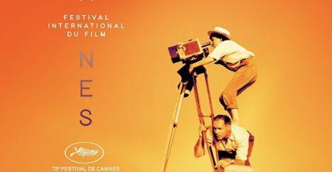 Agnes Varda troner øverst på Cannes-plakaten