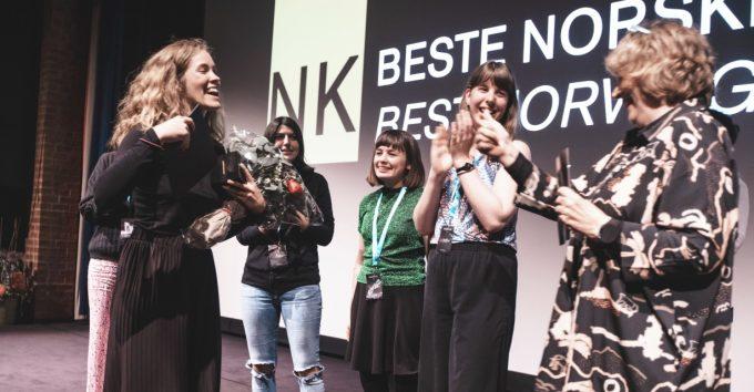 """Den norske filmskolens """"She-Pack"""" vant stort i Grimstad"""